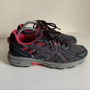 Asics Gel Venture 6 Lace Up Sneakers Pixel Pink